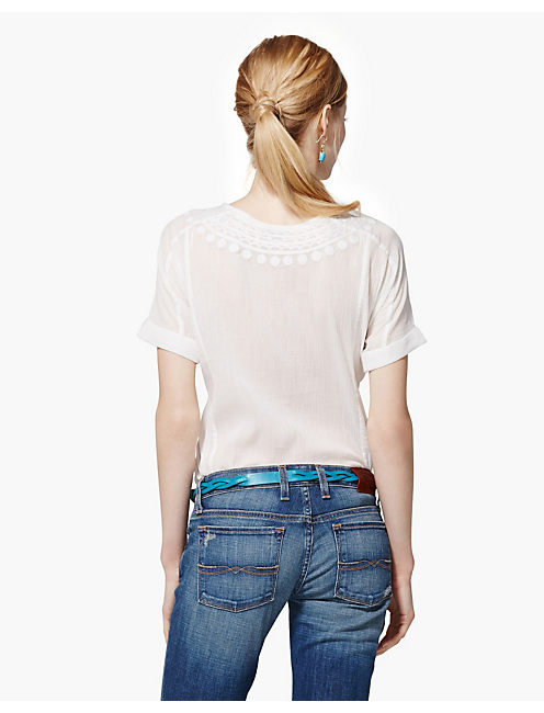 AMBROSIO TOP, LUCKY WHITE