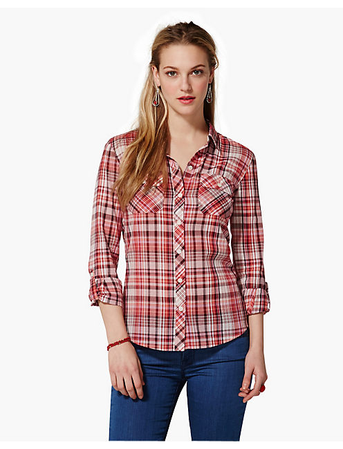BROOKE PLAID SHIRT,