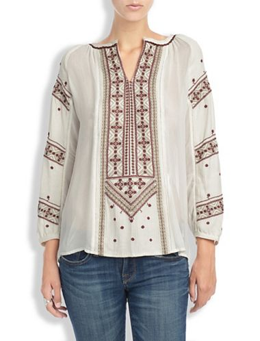 KINLEY EMBROIDERED TUNIC
