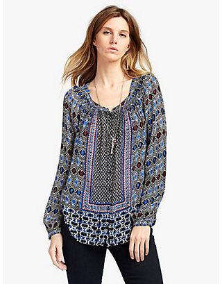 LUCKY GYPSY IKAT TOP