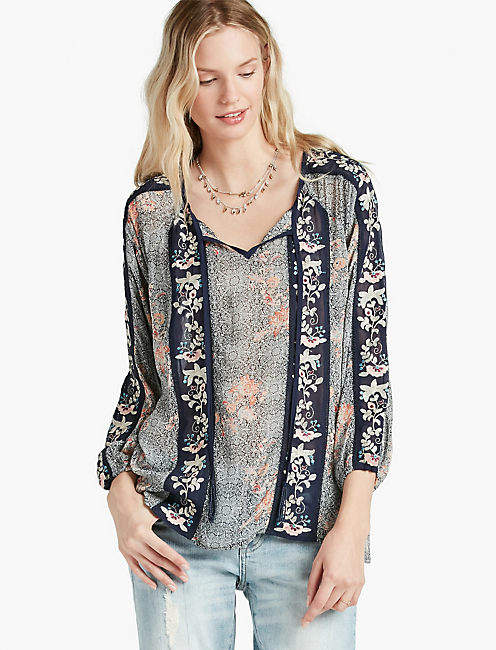 e087acd1b26a Floral Embroidered Top