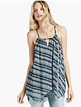 STRIPE HALTER TOP,
