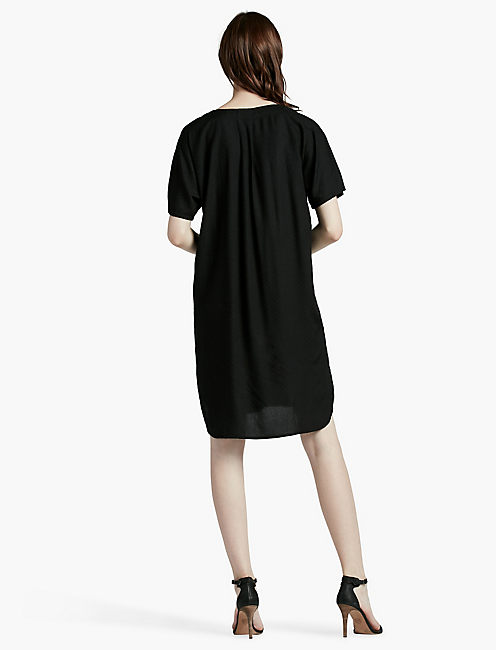 DOLMAN SHIRT DRESS,