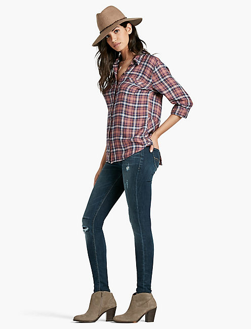 LUCKY BUNGALOW PLAID