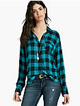 BUNGALOW PLAID TOP,