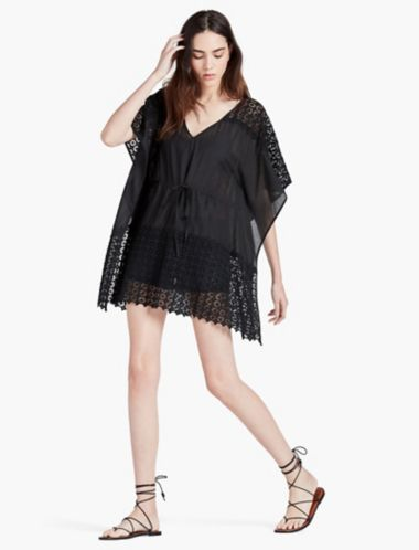 LUCKY LACE COVER UP