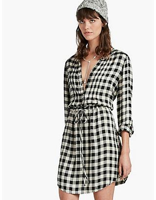 LUCKY GIRLFRIEND PLAID DRESS