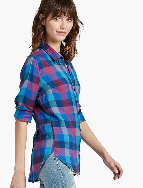 BACK OVERLAY SHIRT, MULTI
