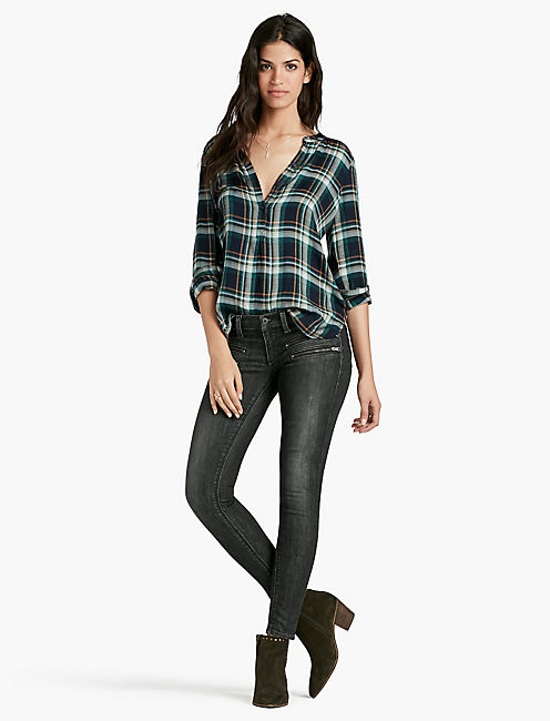 LUCKY POPOVER PLAID