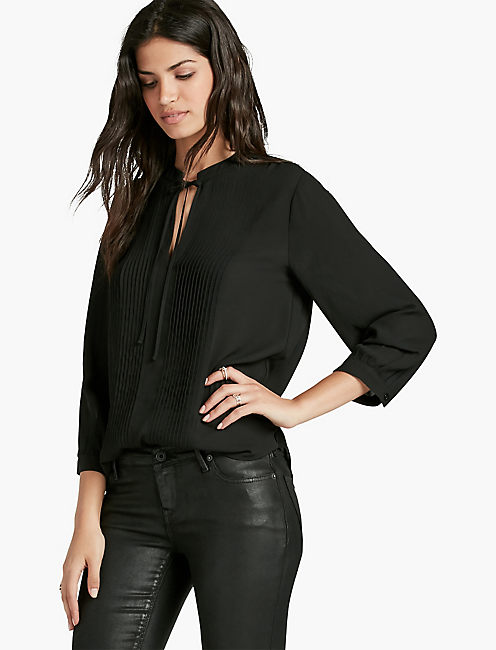 PLEATED BLOUSE,
