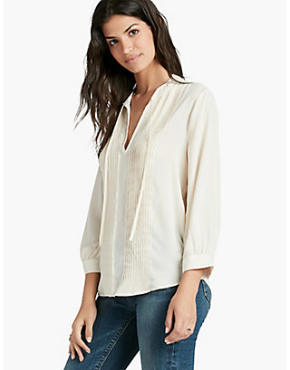 LUCKY PLEATED BLOUSE