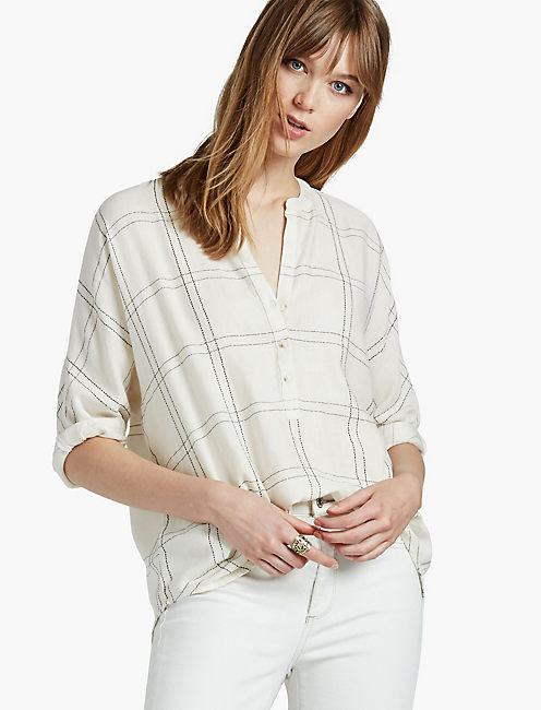 POPOVER LUREX PLAID,