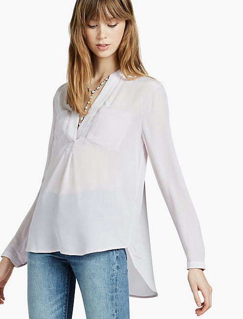 WASHED POPOVER TUNIC,
