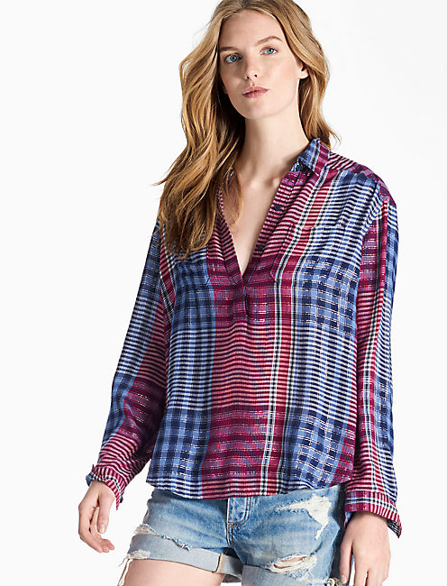 PLAID SHIRT, MULTI