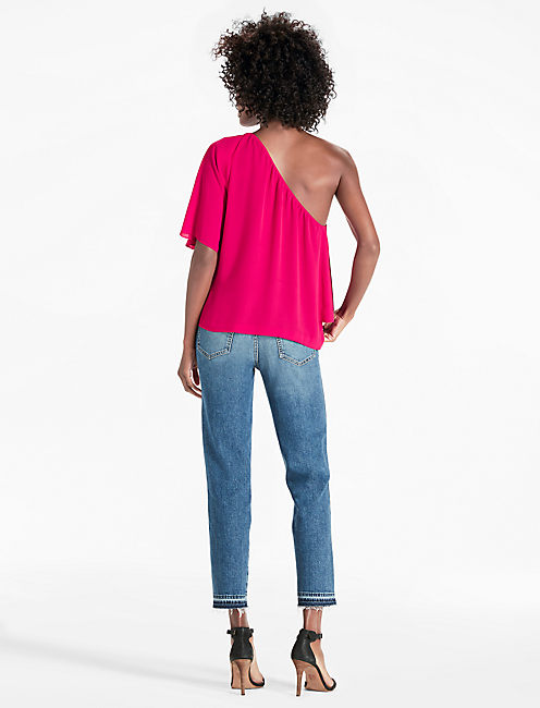 ONE SHOULDER TOP,