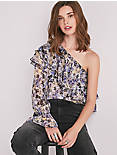 FLORAL ONE SHOULDER TOP,