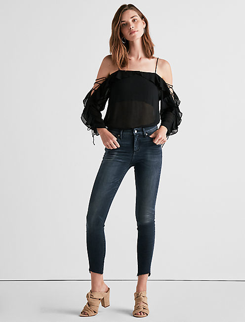 Lucky Kelly Cold Shoulder Top