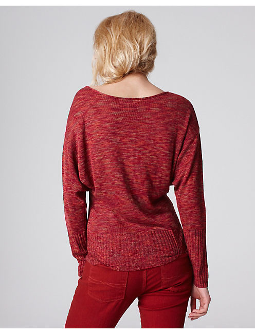 SPARROW SPACE DYE SWEATER,