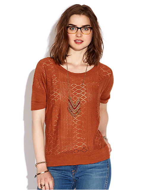ADRIANNA SWEATER TOP, #2469 ADOBE