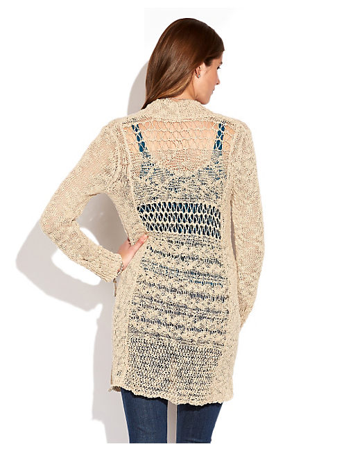ALONSA MARLED SWEATER, NATURAL MULTI
