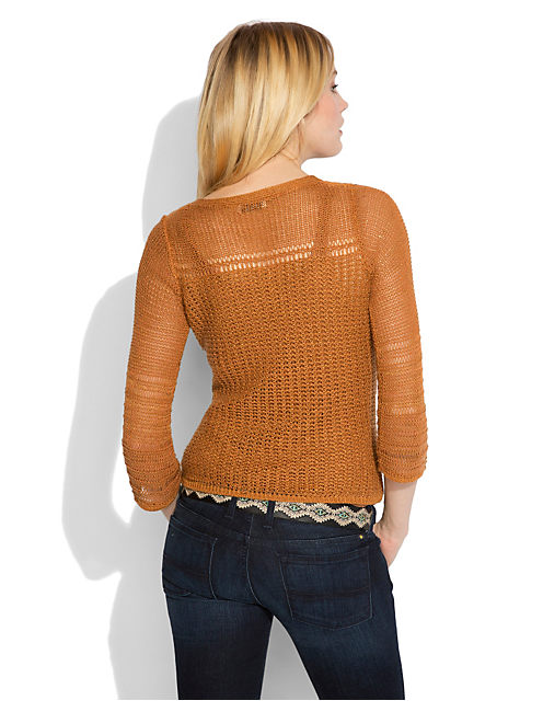 MILLBRAE BELL SLV SWEATER, #2473 GLAZED GINGER