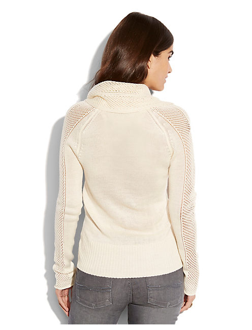 PAULINA POINTELLE SWEATER, #2413 NIGORI