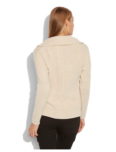 VERONA COWL NECK SWEATER, OATMEAL HEATHER