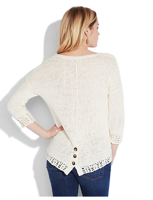ISSY PULL OVER SWEATER, #2413 NIGORI