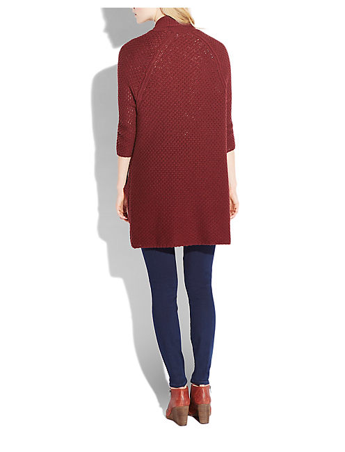 WILLOW SWEATER, #6725 FALL RED