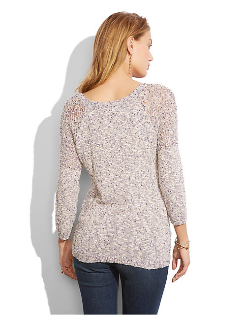 TEXTURED SWEATER, MULTI