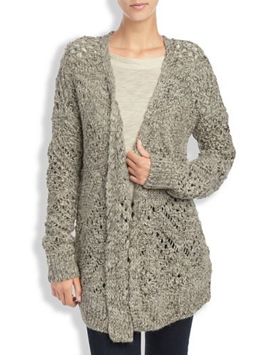 MARLED STITCH SWEATER