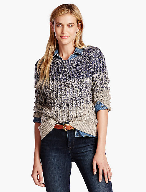 MARLED OMBRE PULLOVER,