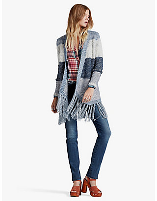 LUCKY STRIPE DUSTER
