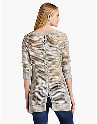 LUCKY LACED UP PULLOVER