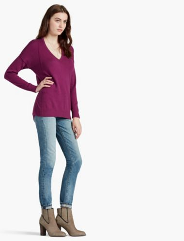 LUCKY CASHMERE PULLOVER