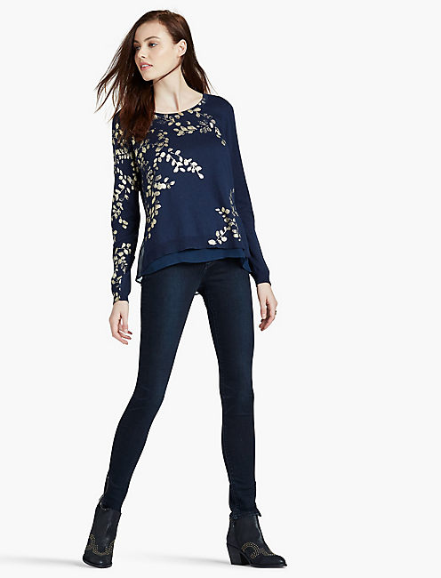 JOANNA FLORAL SWEATER,