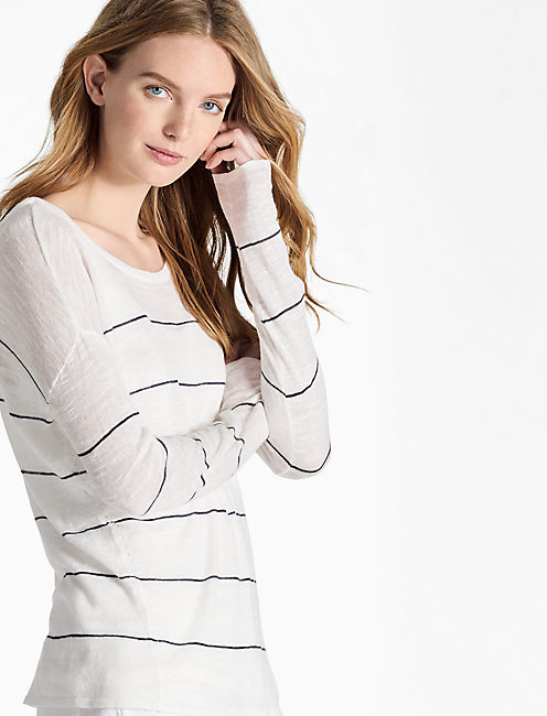 STRIPED SWEATER PULLOVER,