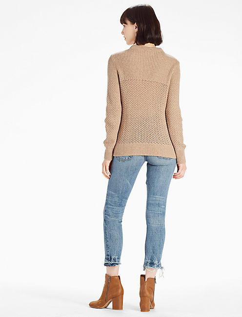 DAKOTA SWEATER, CAPPUCCINO