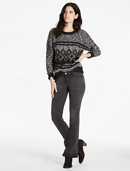 Lucky Pattern Pullover