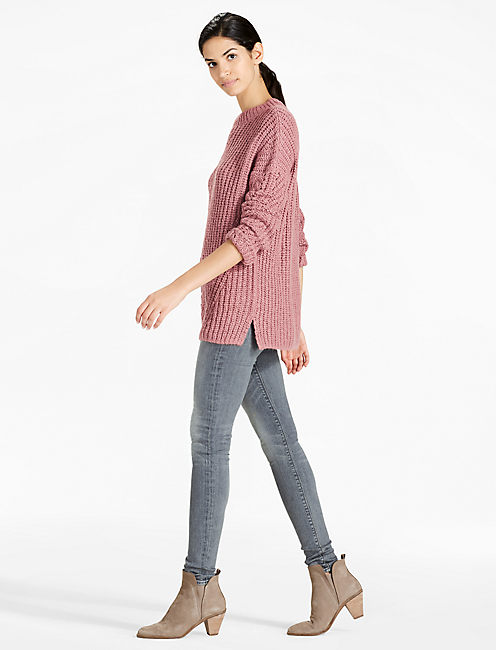 Lucky Open Stitch Pullover