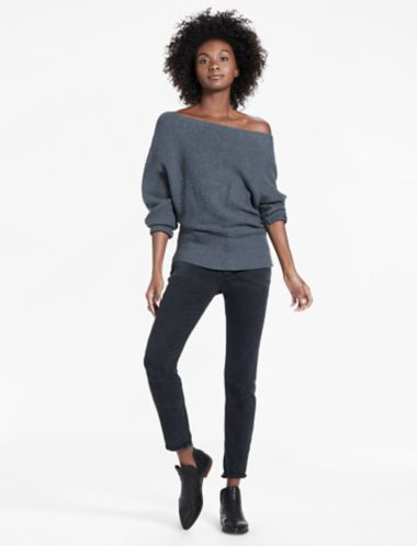 Lucky Off Shoulder Sweater
