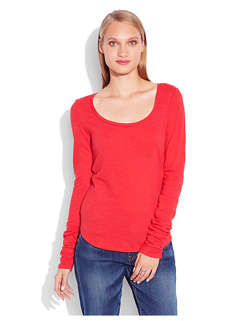 AMBER SOLID TOP, #6704 HAUTE RED