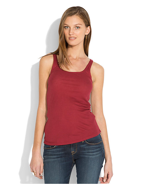 EVELYN TANK, BIKING RED