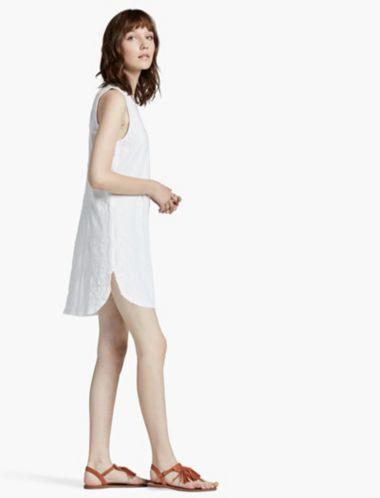 LUCKY TILE APPLIQUE DRESS