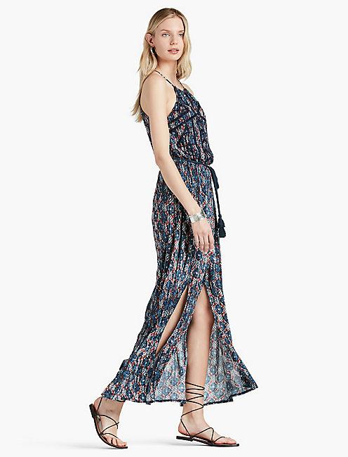 PRINTED MAXI DRESS,