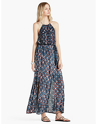 LUCKY PRINTED MAXI DRESS