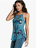 SOUTACHE EMBROIDERED TANK,