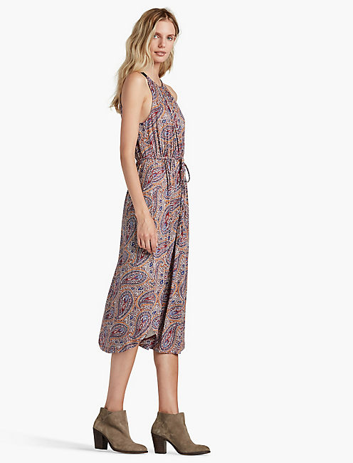 MULTI PAISLEY DRESS,