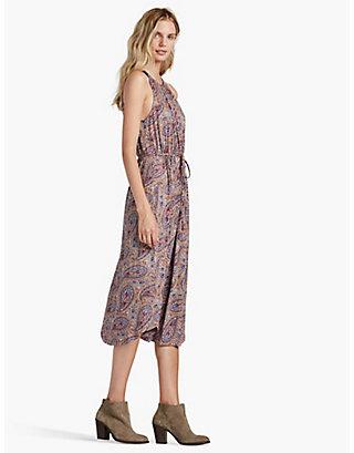 LUCKY MULTI PAISLEY DRESS