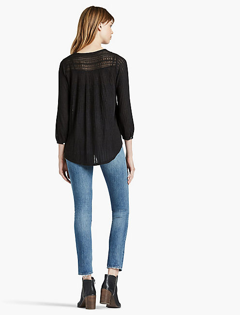 LACE HENLEY THERMAL,